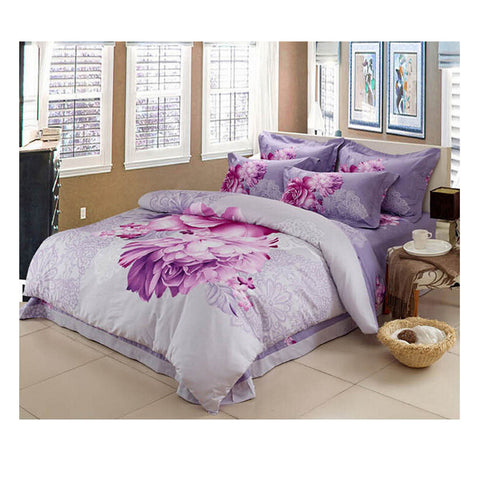 Cotton Active floral printing Quilt Duvet Sheet Cover Sets  Size 22 - Mega Save Wholesale & Retail