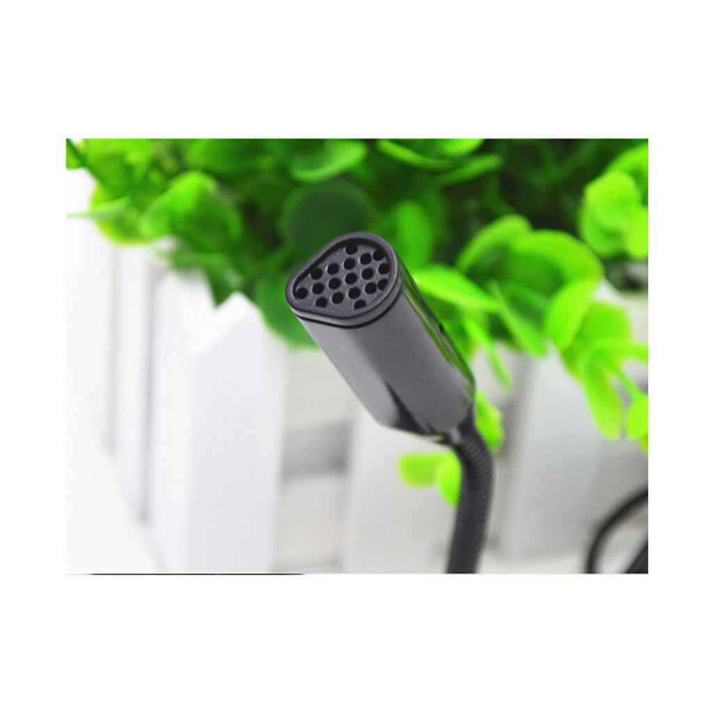 Computer Microphone Small Microphone Household YY Voice Chat Study USB Plug Wired Mini Condenser 3256   black - Mega Save Wholesale & Retail - 5
