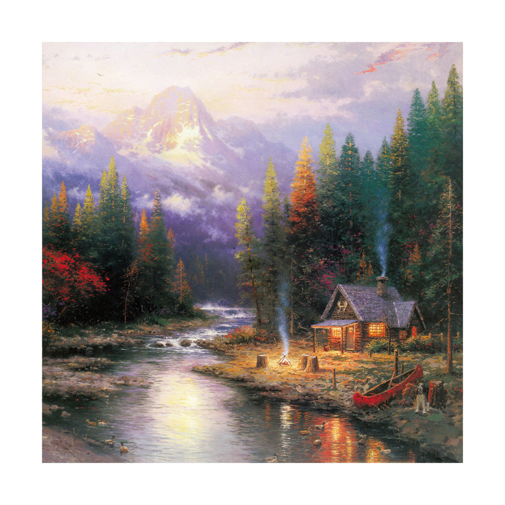 European and American scenery Thomas cattle decoration painting bulk villa hang painting hotel oil painting   23 - Mega Save Wholesale & Retail - 1