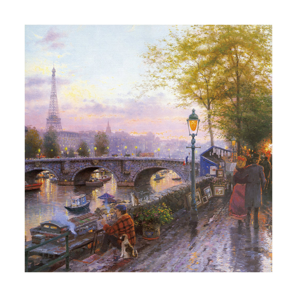 European and American scenery Thomas cattle decoration painting bulk villa hang painting hotel oil painting   24 - Mega Save Wholesale & Retail - 1