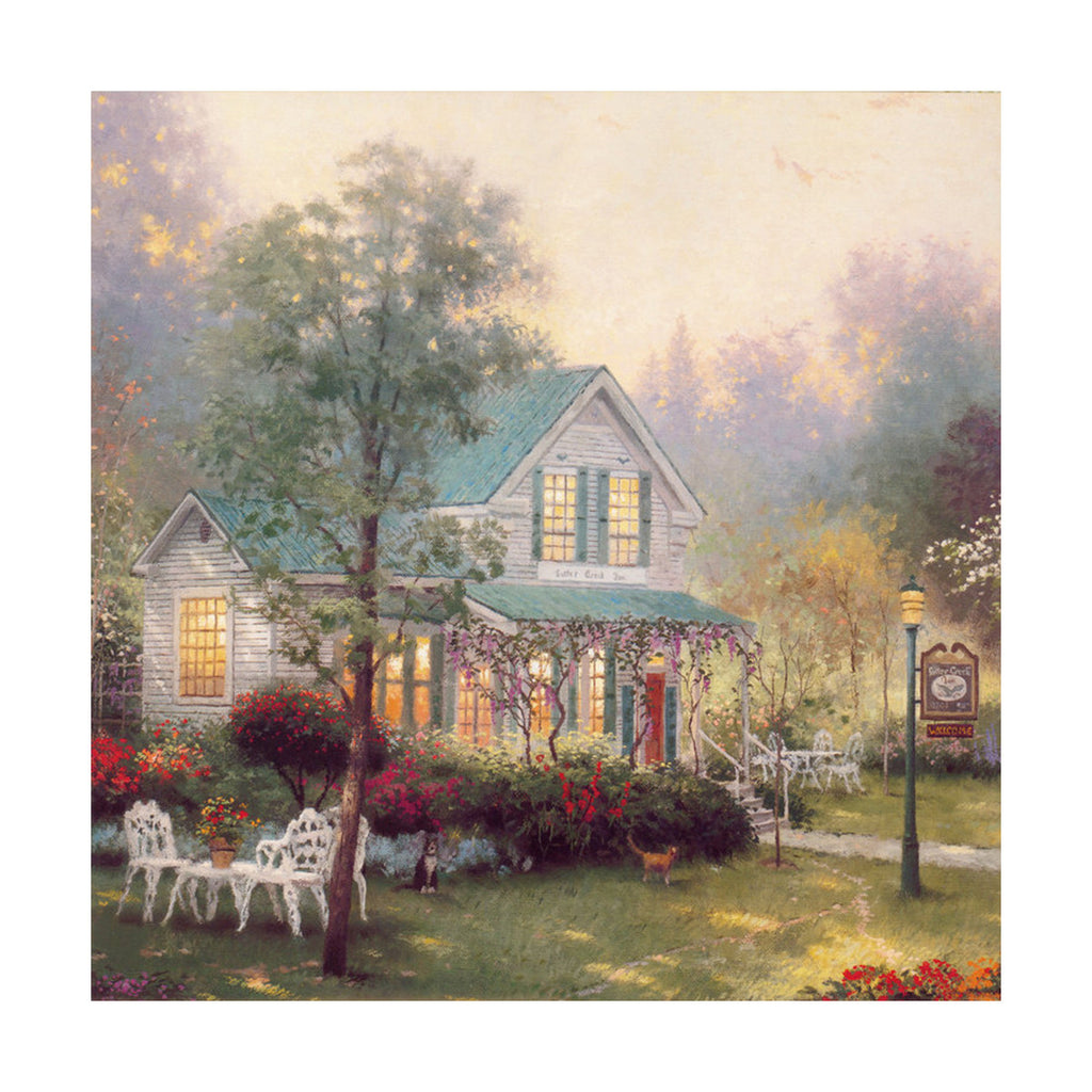 European and American scenery Thomas cattle decoration painting bulk villa hang painting hotel oil painting    25 - Mega Save Wholesale & Retail - 1