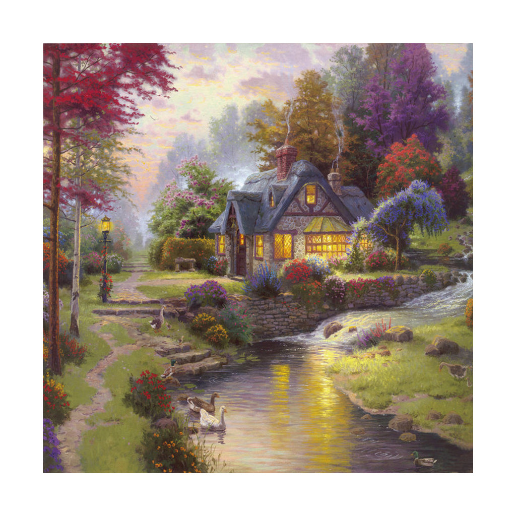 European and American scenery Thomas cattle decoration painting bulk villa hang painting hotel oil painting    26 - Mega Save Wholesale & Retail - 1