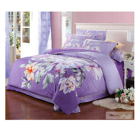Cotton Active floral printing Quilt Duvet Sheet Cover Sets  Size 27 - Mega Save Wholesale & Retail