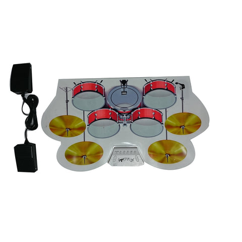 MD1008 Portable Roll-up Electronic USB Midi Drum Kit With Drumsticks Pedals - Mega Save Wholesale & Retail
