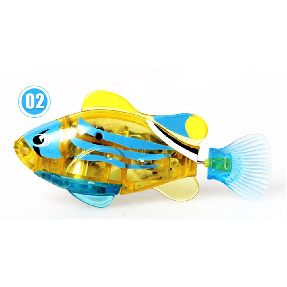 Happy fish magical music Turbot lighting electronic pet fish clown fish shark   01 - Mega Save Wholesale & Retail - 2