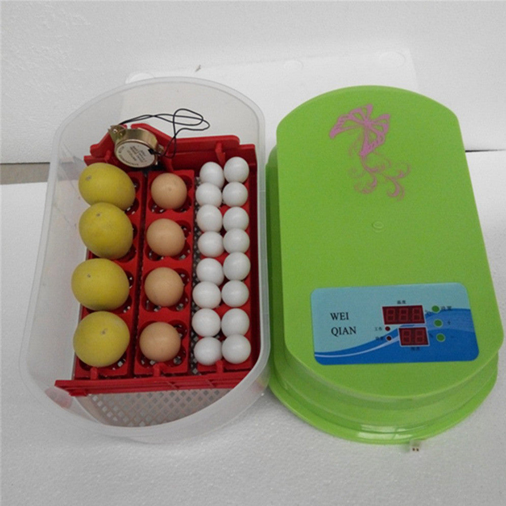12 Eggs Incubator Auto-turning  OR 220V Poultry Hatcher Chicken, Duck, Goose - Mega Save Wholesale & Retail
