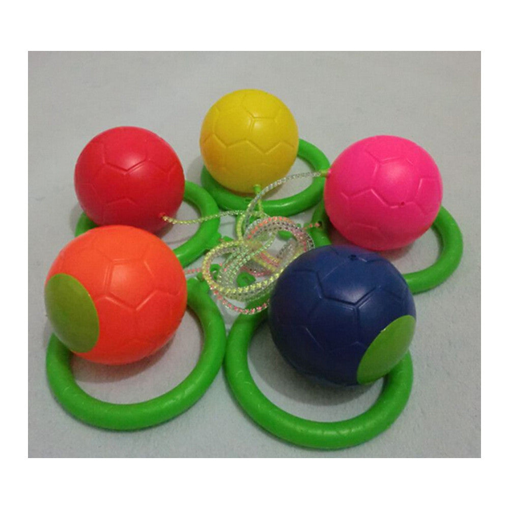 Skip ball Skipper skip and Jump Spining Ball swing ball Children Kids Sport   red - Mega Save Wholesale & Retail