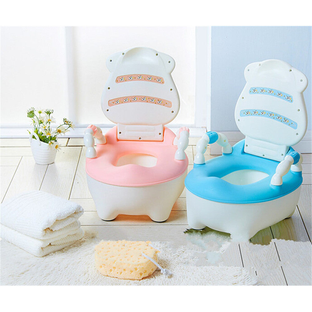 Drawer Back Of A Chair Type Children Baby Toilet Seat Training System   Blue - Mega Save Wholesale & Retail - 4