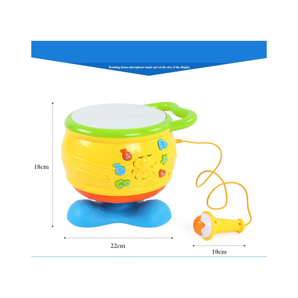 Gifted musicians grace with sound and light toys early childhood music drum infant toys early childhood educational toys - Mega Save Wholesale & Retail - 2