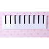 Piano Keyboard Hook, Coat Clothes Bag Rack Hanger    black and white - Mega Save Wholesale & Retail - 2