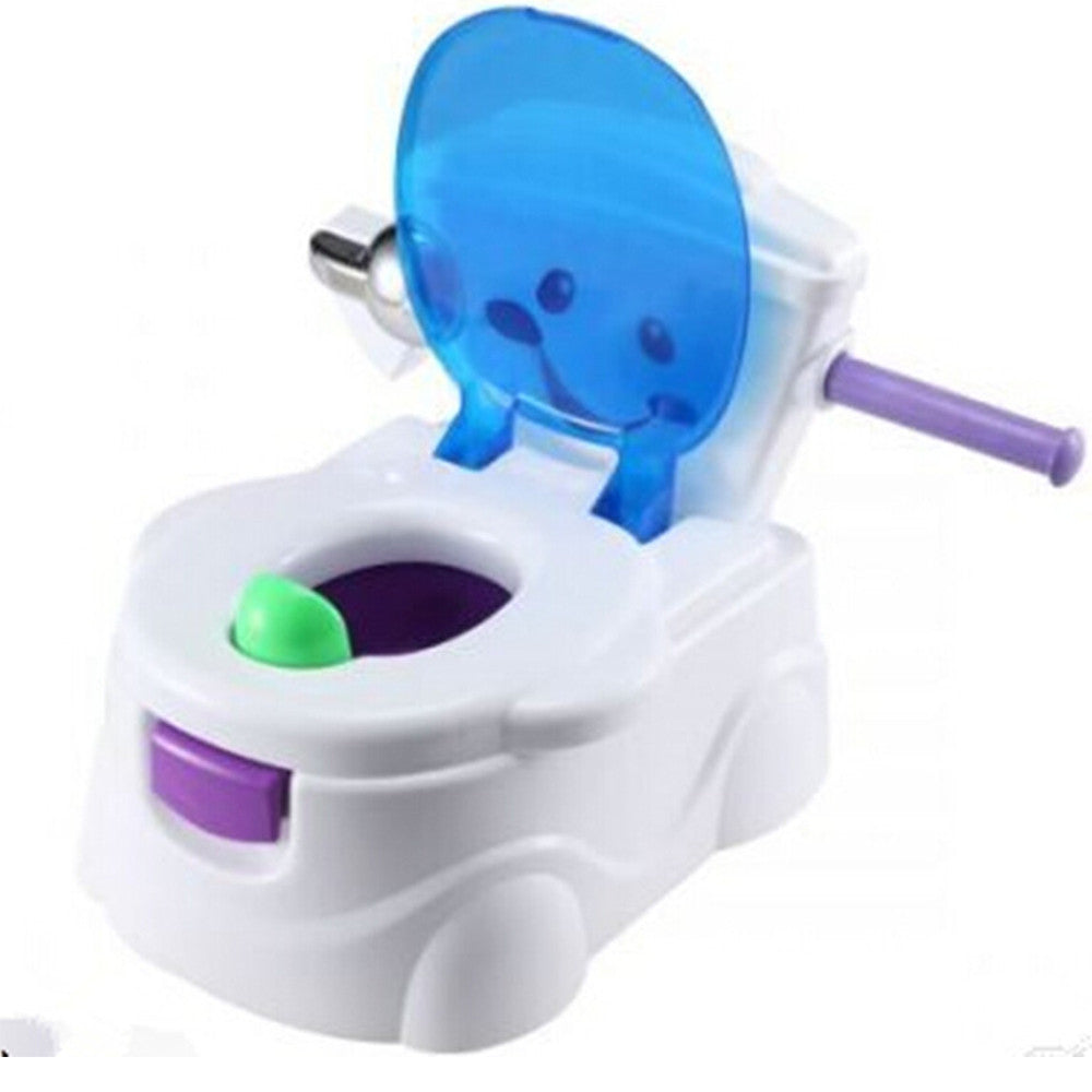 Kids Toilet Training 2 in 1 Baby Toddler Potty  Seat Trainer Chair   blue - Mega Save Wholesale & Retail - 1