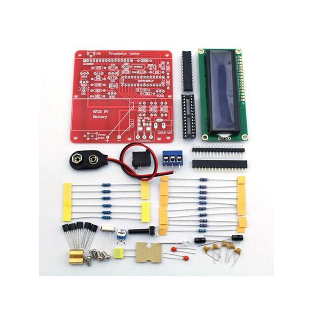 DIY Multifunction Transistor Tester Kit For LCR ESR Transistor PWM Signal Generator - Mega Save Wholesale & Retail - 2