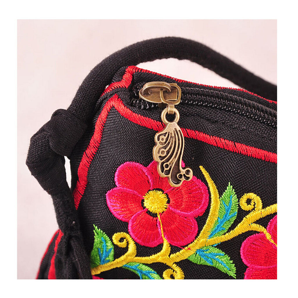Embroidery Bag Yunnan National Chinese Style Embroidery Featured Messenger Bag Foreign Trade Bag Mmorning Glory - Mega Save Wholesale & Retail - 2