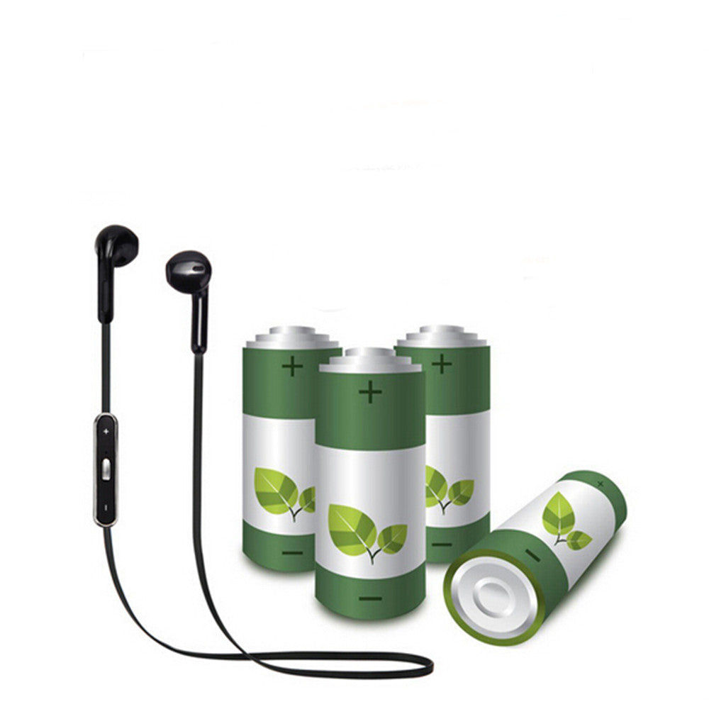 Earbuds Bluetooth Headset Sports earphone Bass Music CSR4.0 For iphone/HTC/Mi/LG Black - Mega Save Wholesale & Retail - 4