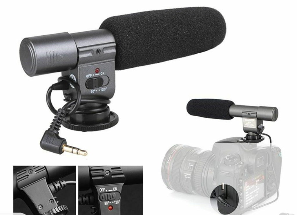 Microphone for Video Camcorder DSLR Camera