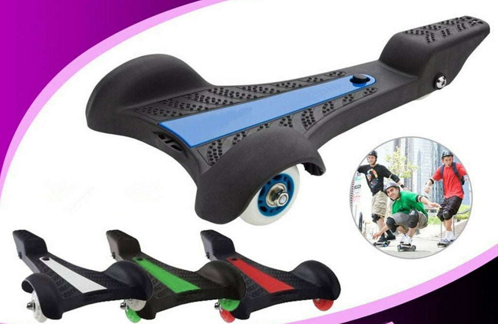 3 Wheels Sole Skate Skateboard