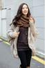 Womens Spring Autumn Fall Cable Casual Cardi Sweater Bat Coat Chic