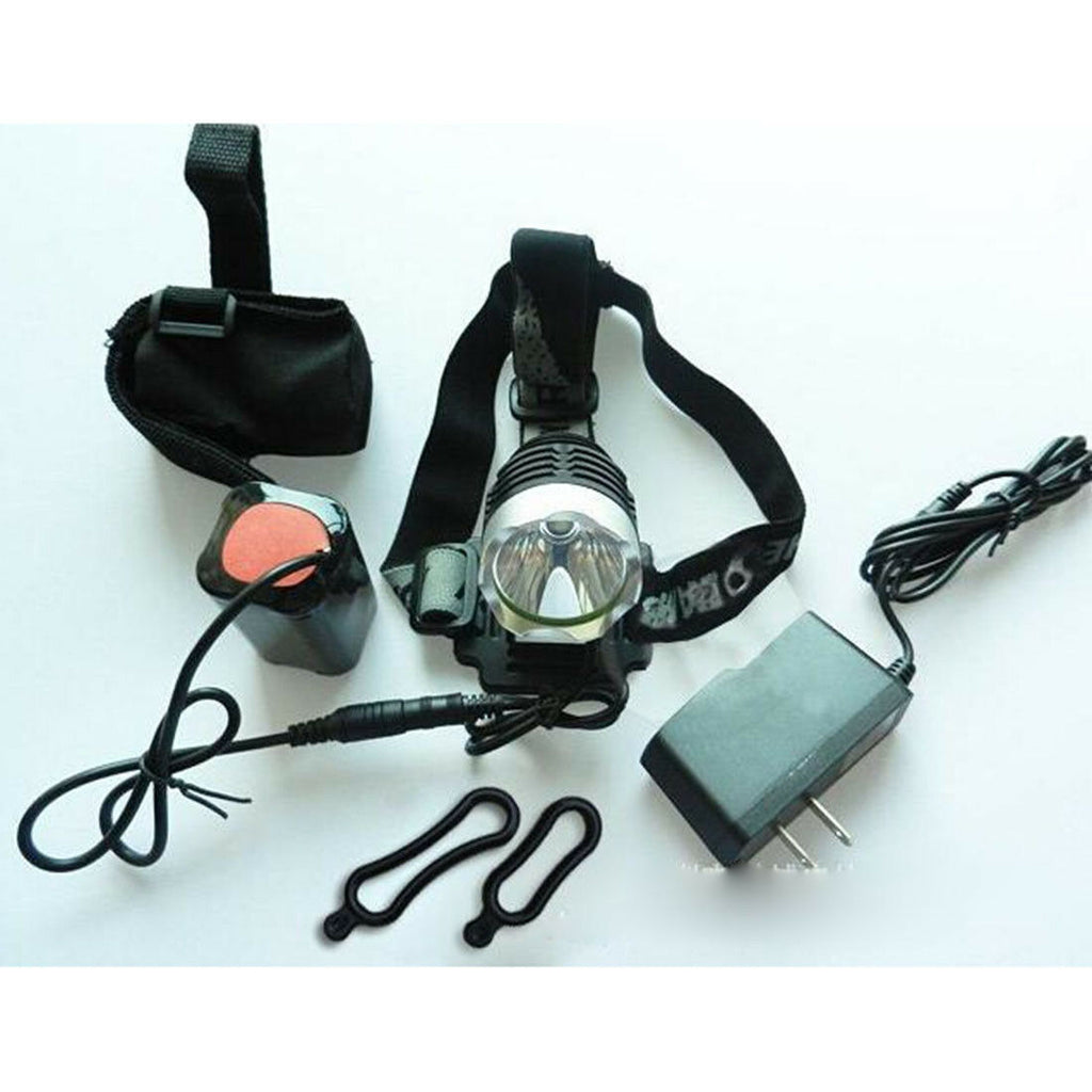 1800Lm CREE XML-T6 LED Head Front Bicycle Lamp Bike Light Headlamp Headlight