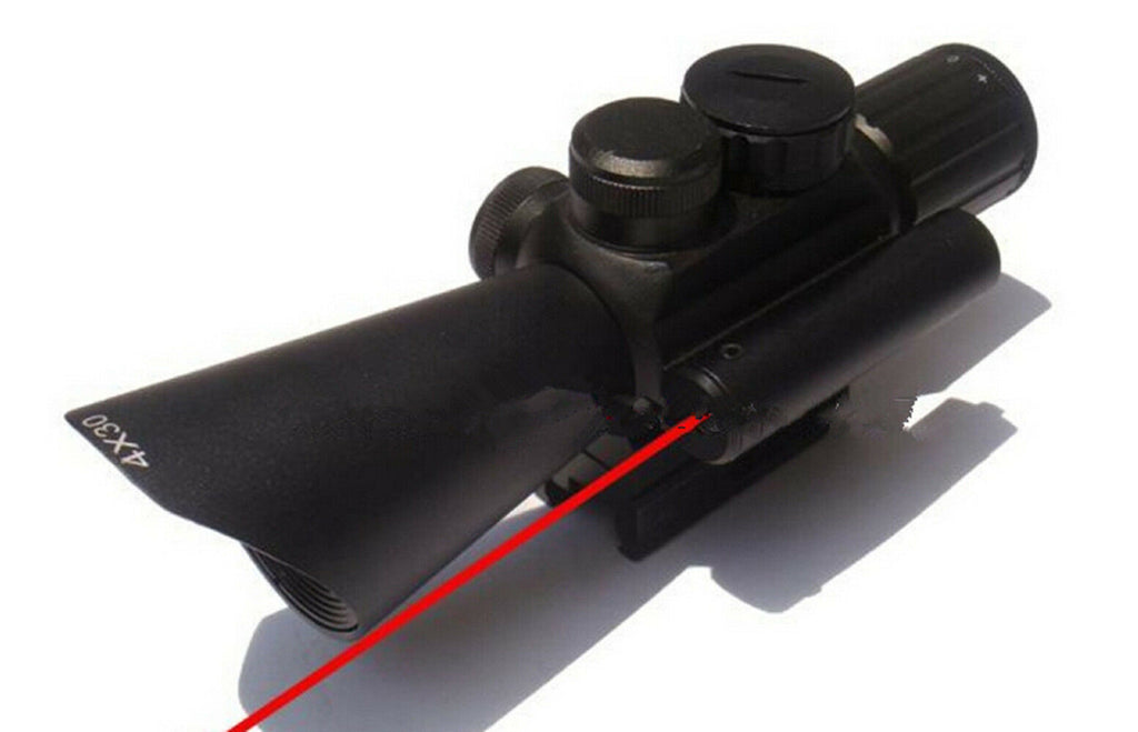 4x30 M7 Tactical Optics Hunting Gun Riflescope Air Rifle Scope