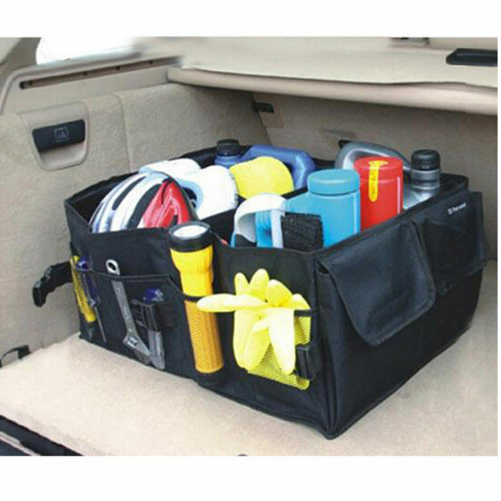 Oxford canvas car storage box car foldable box car trunk tool kit