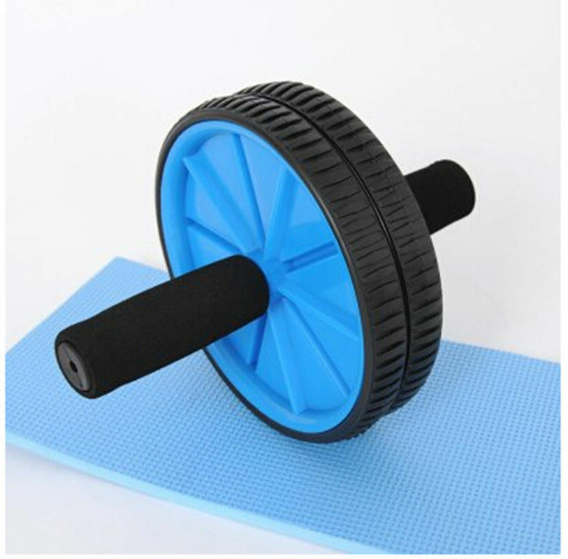 Abdominal Sport Training Wheel Roller BodyBuilding Workout Fitness Exerciser