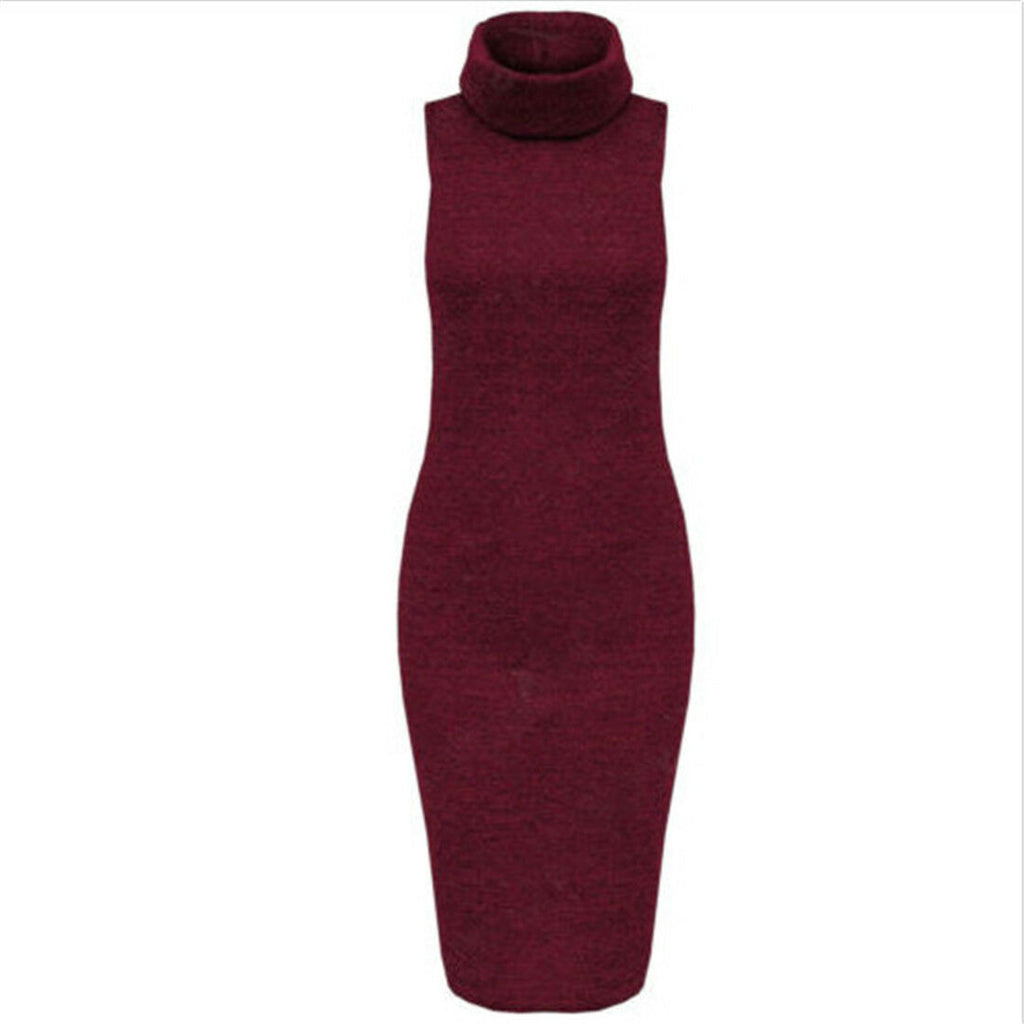Winter New Hot Women Fashion Sexy Hooded Bodycon Wrap Warm Prom Club Party Dress