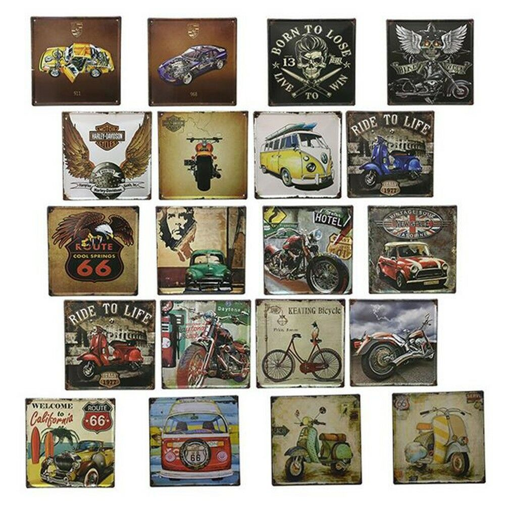 Bar Cafes Coffee Shop Wall Hanging Decoration Iron 8020