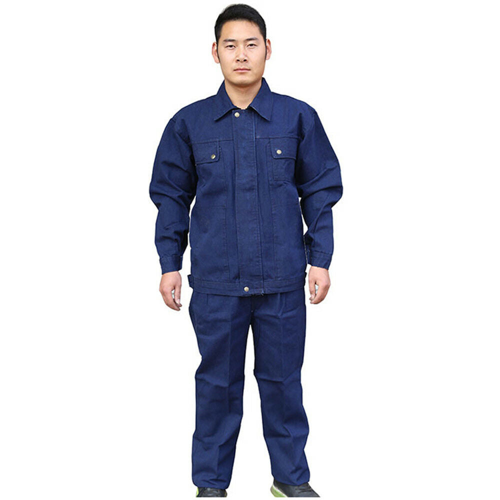 Jeans Work Uniform Welder Jacket Thick