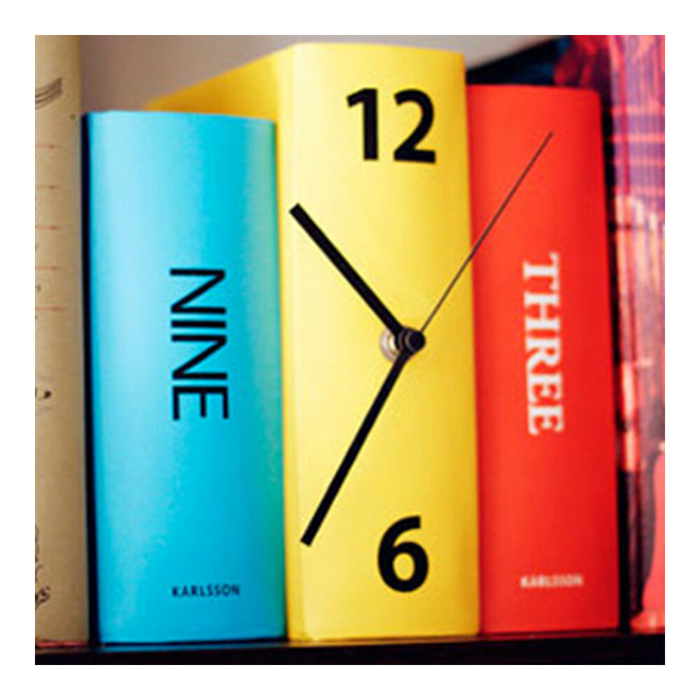 Book Alarm Clock Creative Vintage