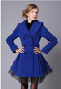 Romantic Warm Winter Jacket With Gauze Edges Outwear Vintage
