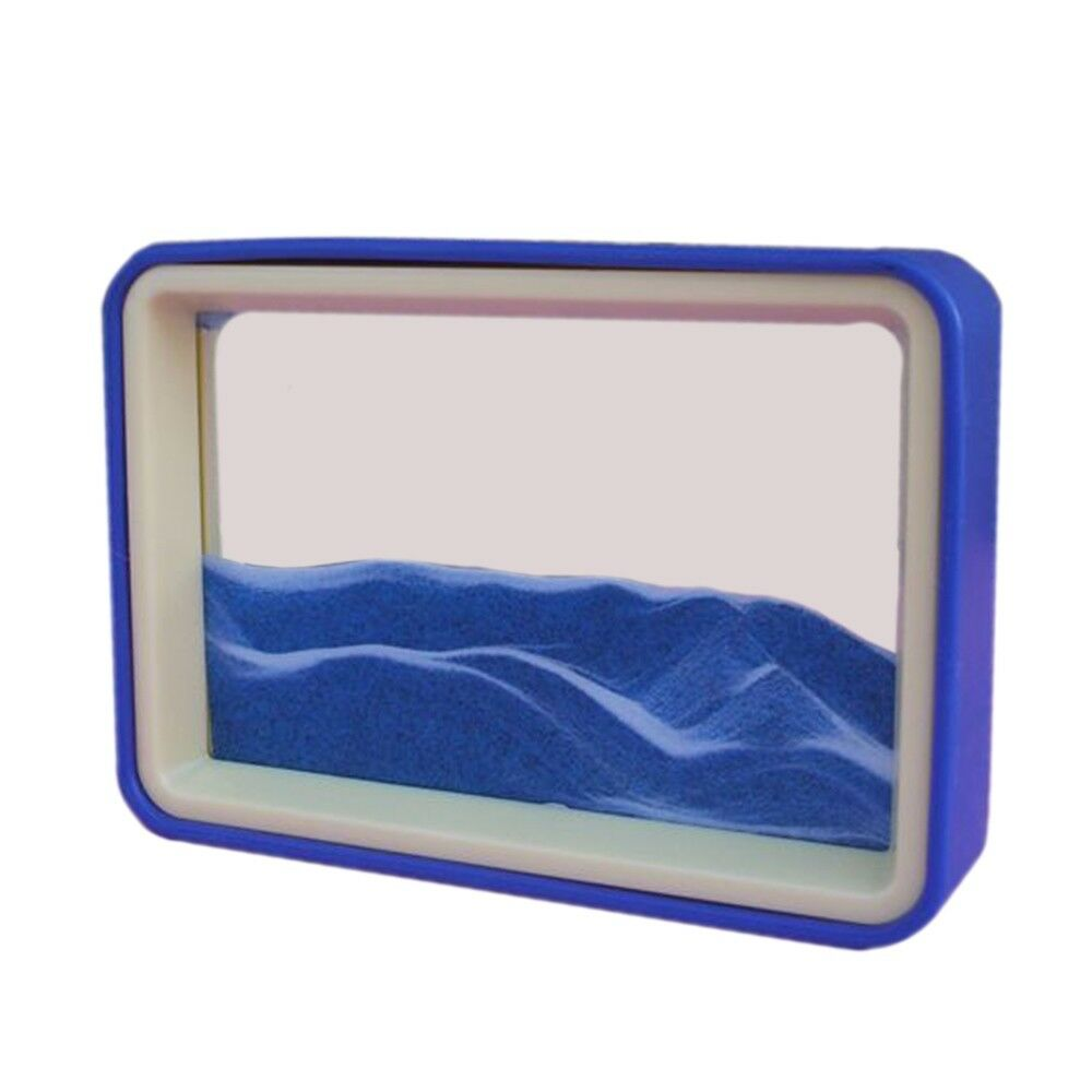 3D Creative Moving Sand Glass Art Picture Frame Home Decor