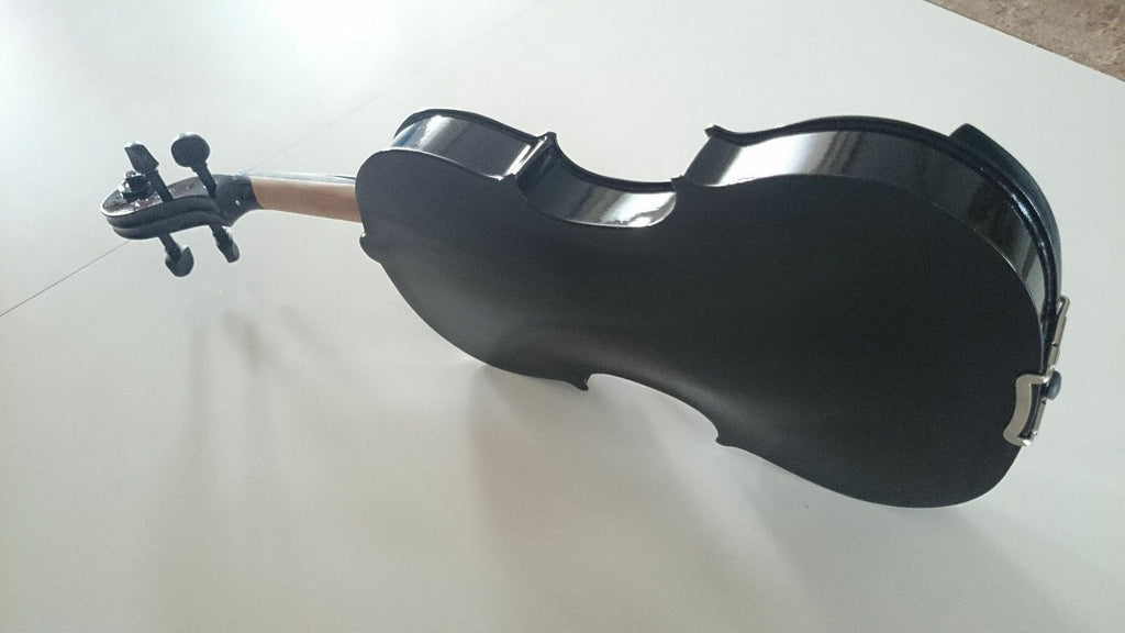 Student Acoustic Violin Full 4/4 Maple Spruce with Case Bow Rosin Black Color