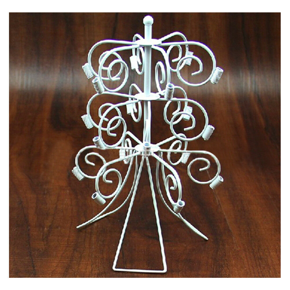 Lollipop Creative Display Stand Holder Server 3 Layers 18 Holes Iron