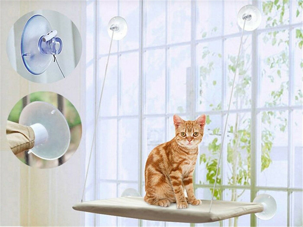 Window Mount Cat Bed Pet Hammock Pet Home Suction Cup Resting Seat