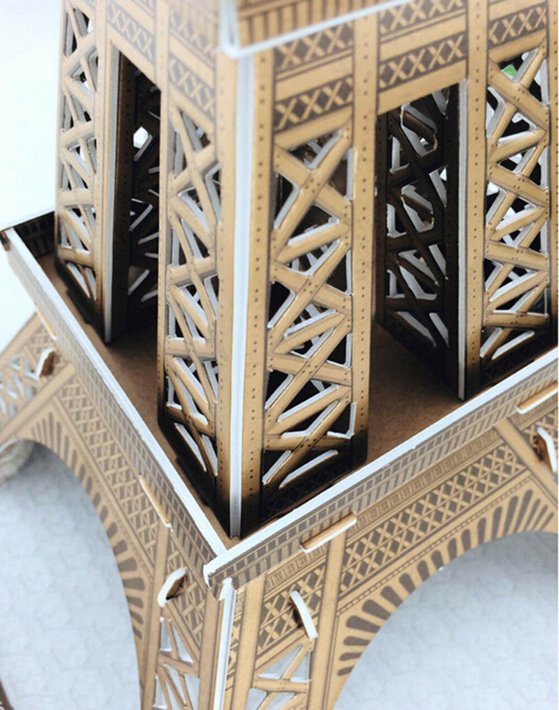 Educational 3D Model Puzzle Jigsaw Eiffel Tower DIY Toy