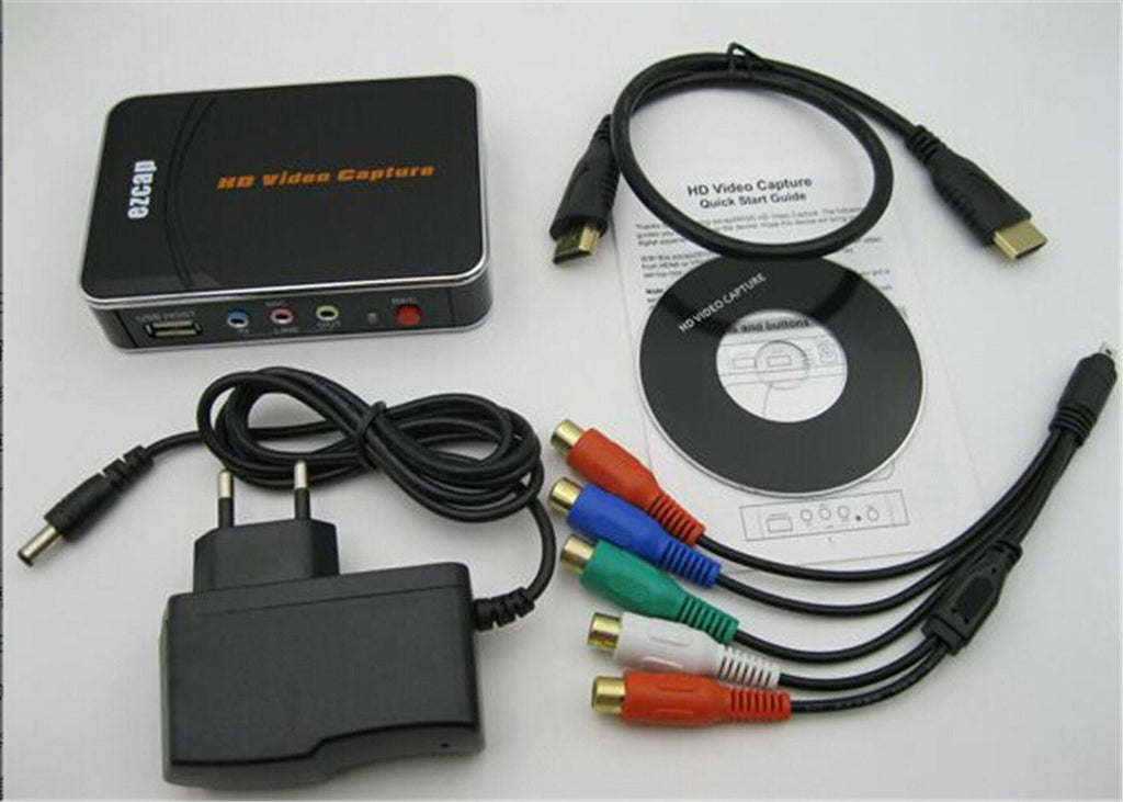 HD Video Capture EZCAP 1080P Game Capture HDMI YPbPr Recorder Box into USB