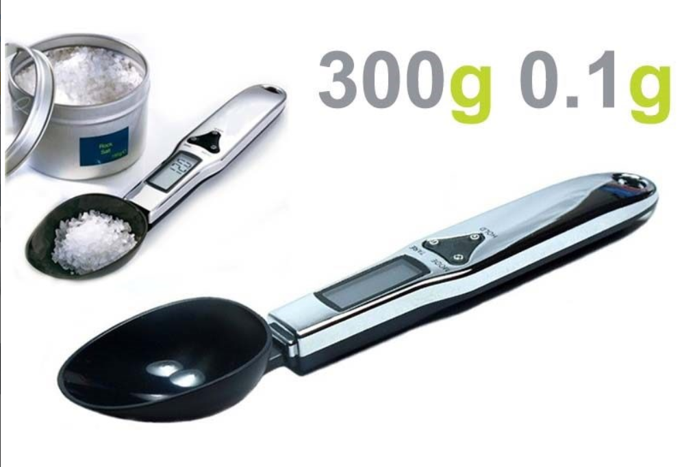 Mini Electronic Kitchen Digital Spoon Measuring Scale Weight Scales 300g/0.1g