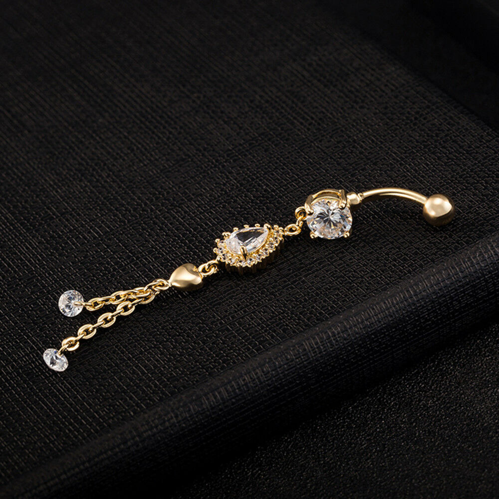 Navel Ring Buckle Water-drop