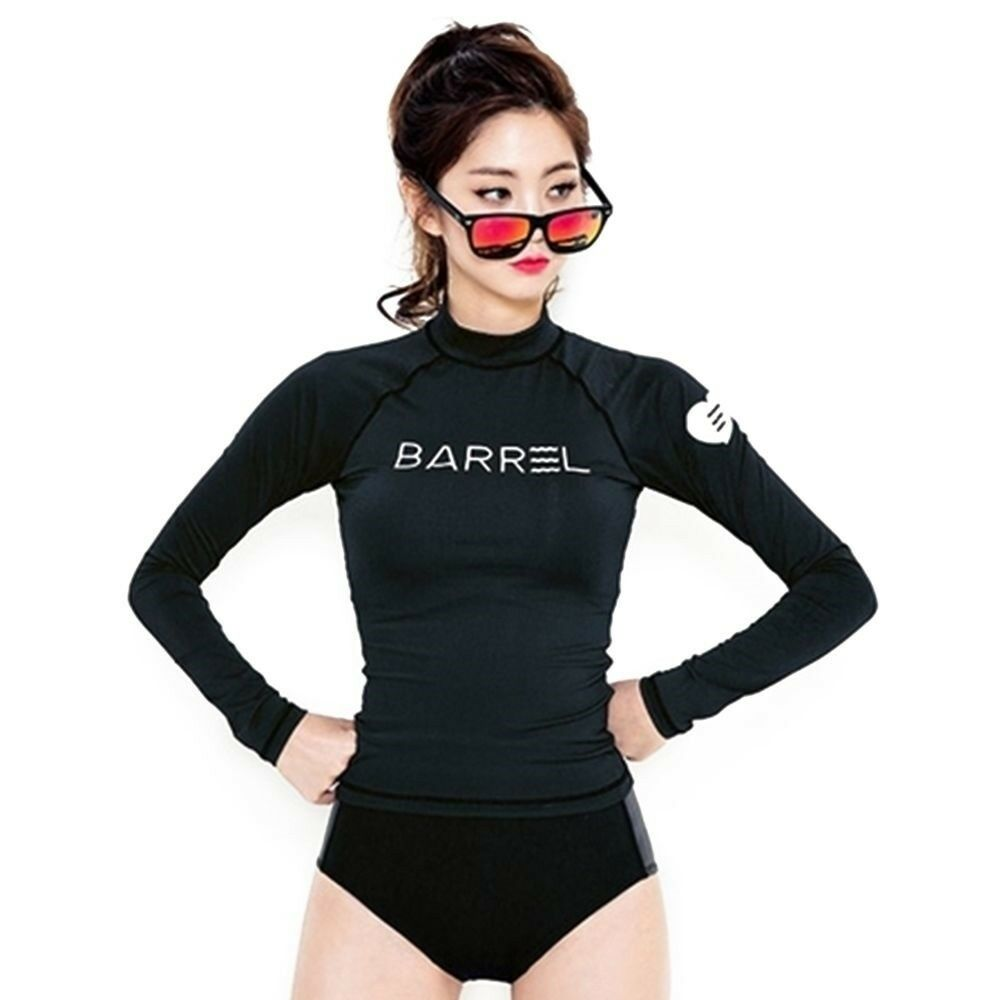 Diving Suit Surfing Long Sleeve Slim Black Suit