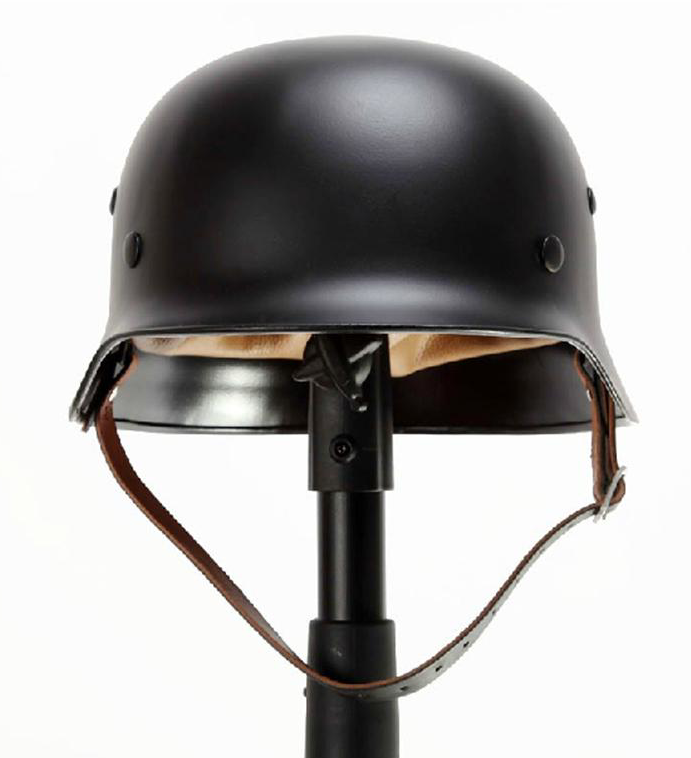 WW2 WWII German Elite M35 M1935 Steel Helmet Black
