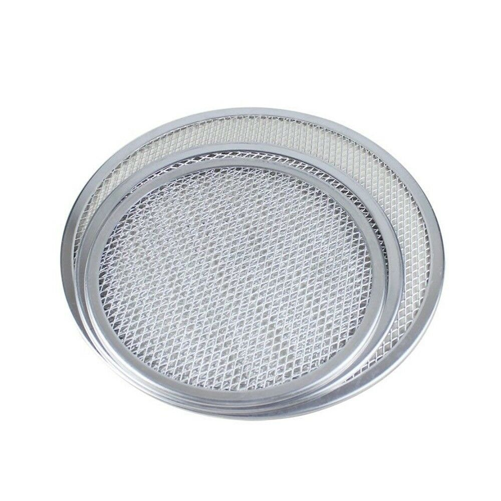 "Pizza Thick Pizza Mesh Pan Screen Baking   6""-22"""