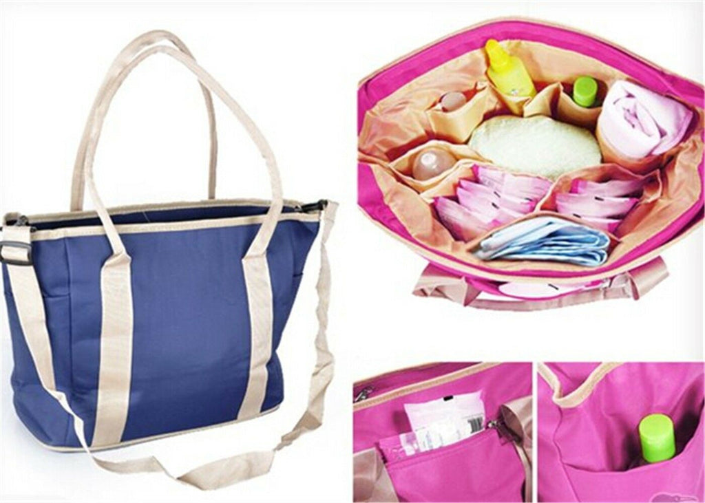 Chic Fashion Cute Baby Diaper Nappy Multifunction  Bag Mommy Shoulder Bag