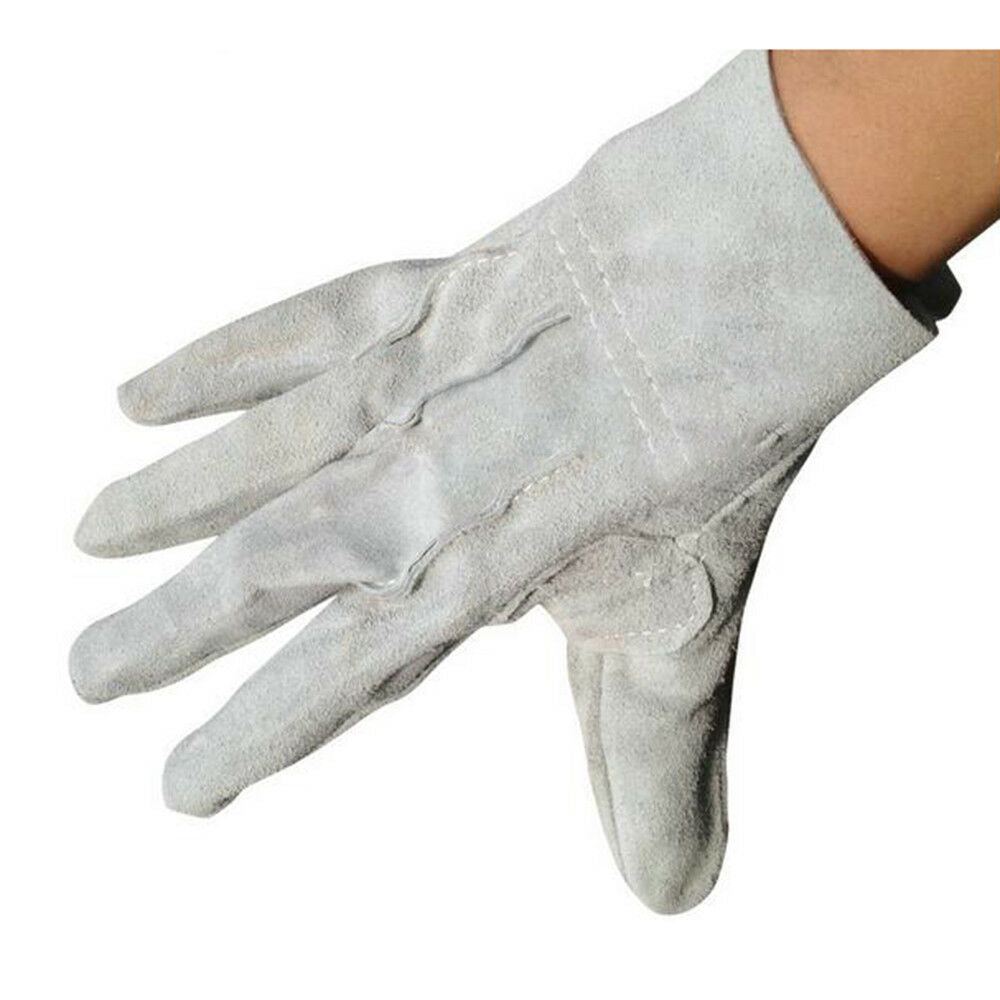 1 pair Mig Welding WELDERS Work Cowhide Leather Gloves 24cm