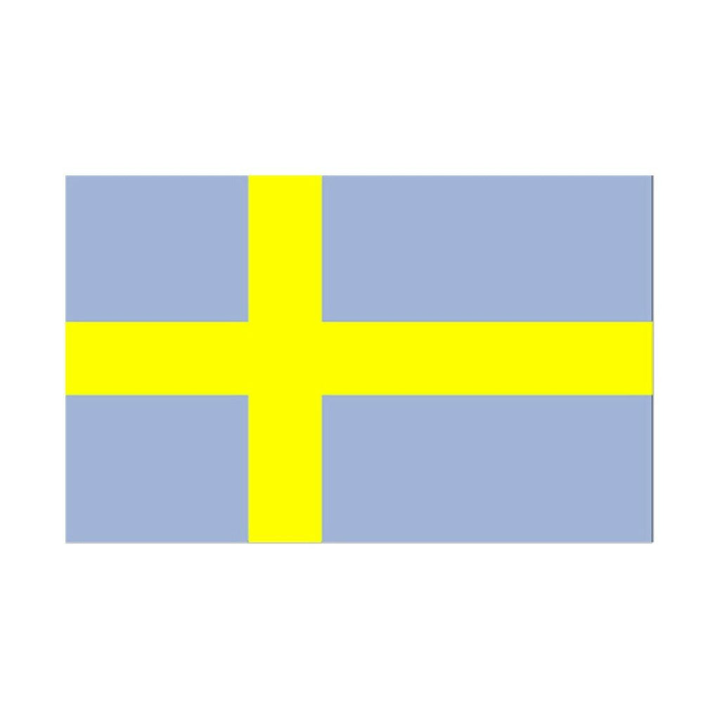 90 * 150 cm flag Various countries in the world Polyester banner flag     Sweden
