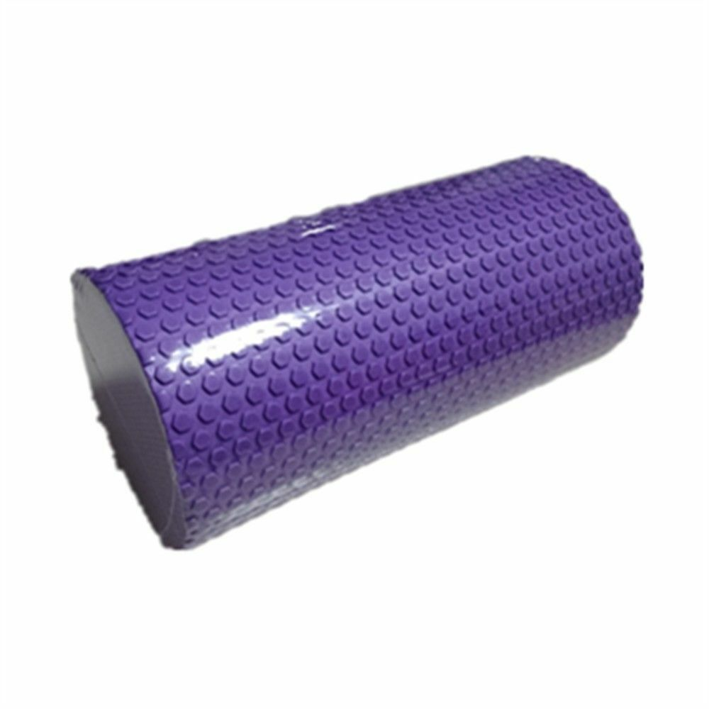 Yoga Gym Pilates EVA Soft Foam Roller Floor Exercise Fitness Trigger 30x14.5cm