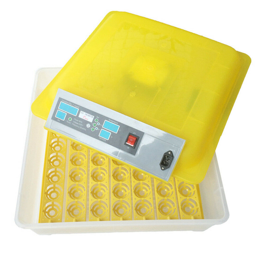 egg incubator 56 numbers sunny days temprature-controlled automatic switch new