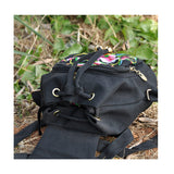New Yunnan Fashionable Embroidery Bag Stylish Featured Shoulders Bag Fashionable Woman's Bag Bulk 93012   catharanthus roseus - Mega Save Wholesale & Retail - 4