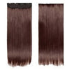 Five card piece 120g high temperature wire synthetic hair Straight hair extension 60 # Seamless wig curtain Highlights   #33 - Mega Save Wholesale & Retail - 1
