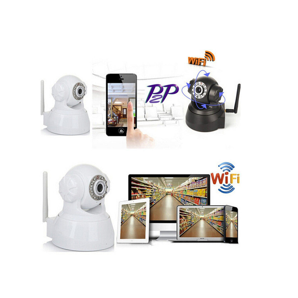 WIFI Online Monitoring Cloud Deck Camera 720P High Defifnity Card Camera IP Camera XXK-50100 - Mega Save Wholesale & Retail - 4
