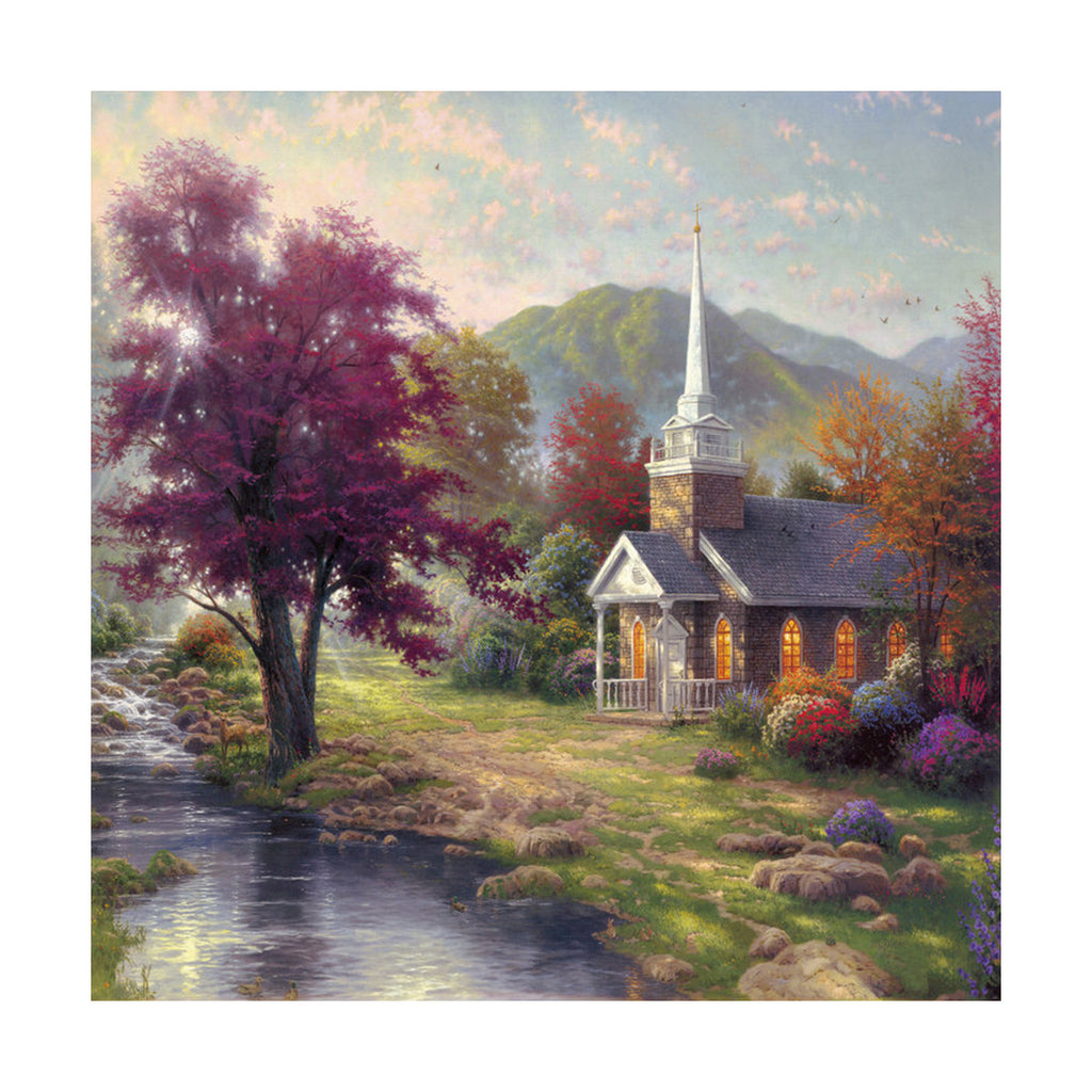 European and American scenery Thomas cattle decoration painting bulk villa hang painting hotel oil painting  33 - Mega Save Wholesale & Retail - 1